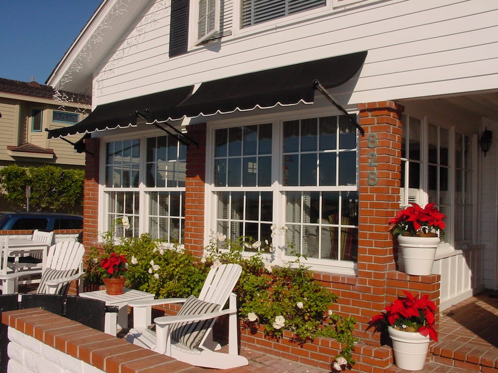 weatherboard shade awnings blinds outside direct window house awning spot melbournetop coburg outdoor canvas factory